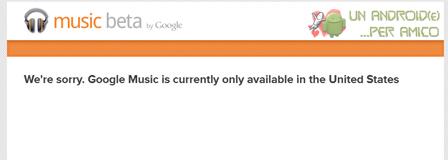 Come attivare Google Music