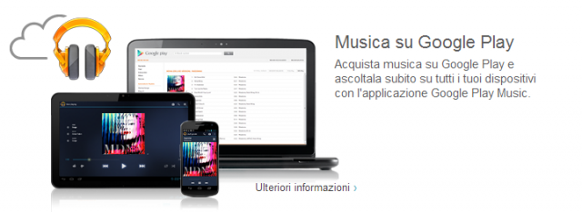 Google Play Music in Italia