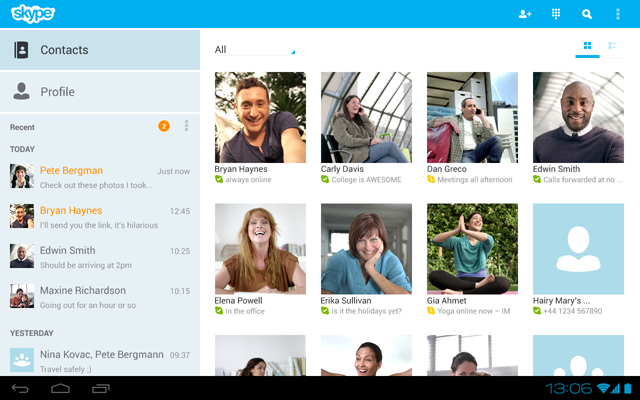 Skype 3.0 Android