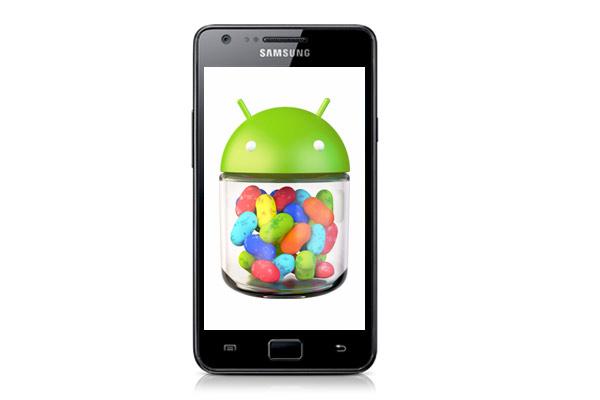 Galaxy S2 Jelly Bean 4.1.2 update
