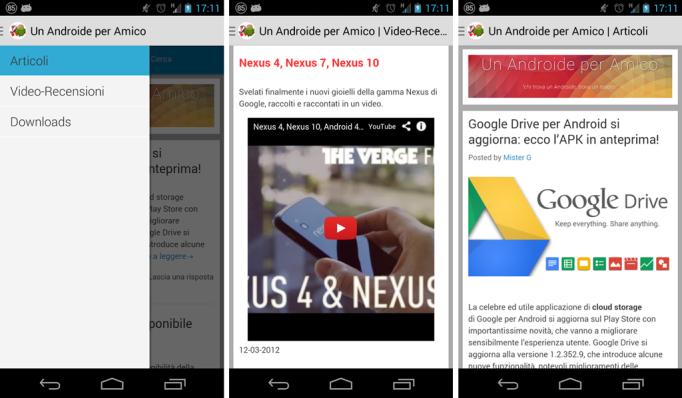 Un Androide per Amico app