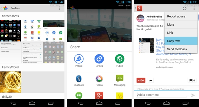 google plus 4.2 kitkat