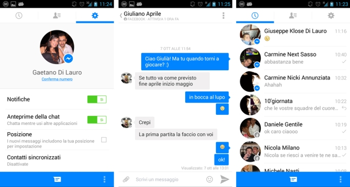 facebook messenger beta android